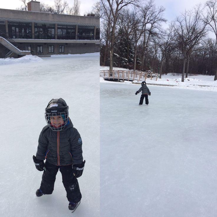 Duck pond kildonan park Winnipeg, Manitoba