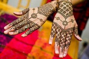 Simple Arabic Bridal Henna Mehndi Designs