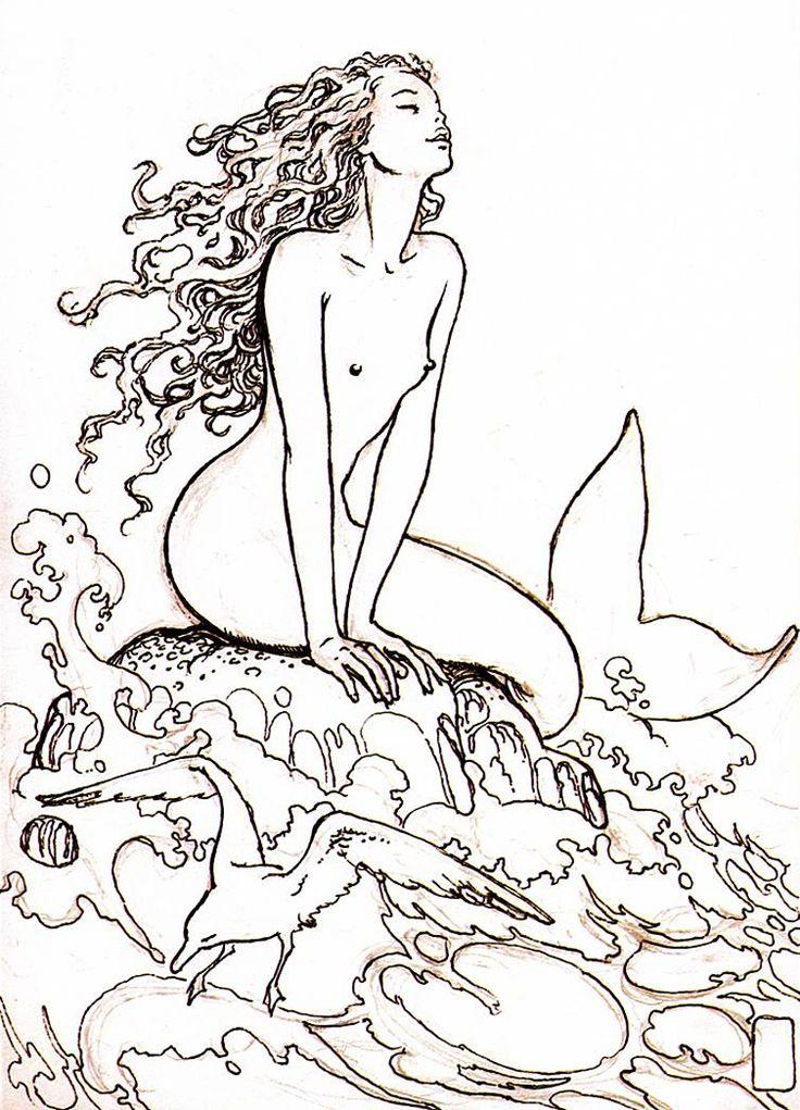 Milo Manara - Sirena (Mermaid) - Memory (2001)