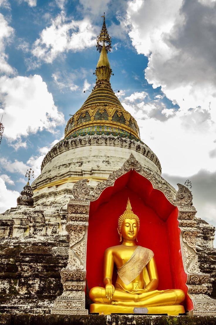Wat at Chiang Mai, Thailand