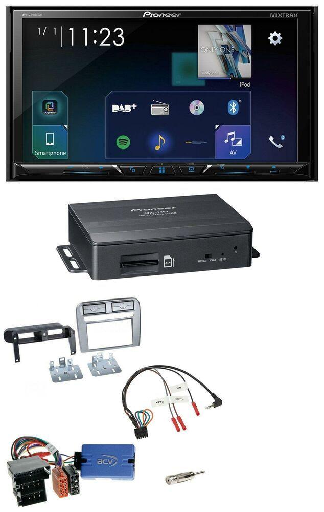 Pioneer Tmc 2din Lenkrad Bluetooth Dab Navigation Für Fiat Grandepunto 05 06 Ant Hifi Ebay Gps