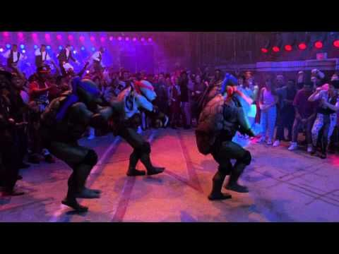 Vanilla Ice Ninja Rap [HD] Go Ninja, Go Ninja GO! from TMNT 2