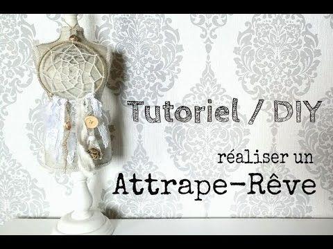 tutoriel / DIY: réaliser un attrape-rêve / make a dream catcher