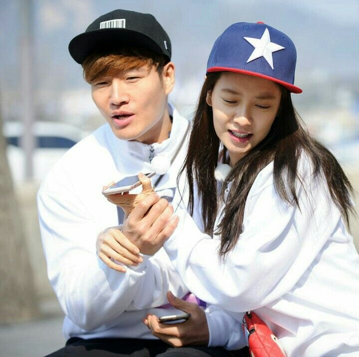 Song Ji Hyo and Kim Jong Kook, Running Man ep. 293