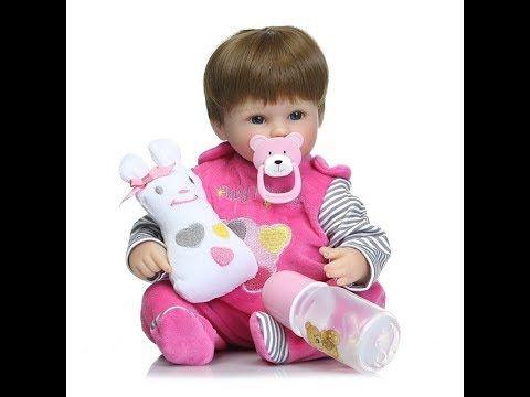 """Алиэкспресс куклы """"реборн"""" Реалистичная кукла Реборн 55 см,2 цвета на вы..."""