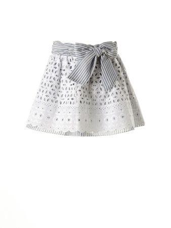 How to made a beatiful skirt !!  Como hacer de una falda algo precioso