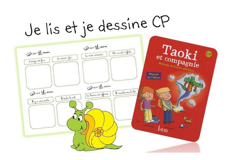 ATELIER Je lis et je dessine CP - Caracolus