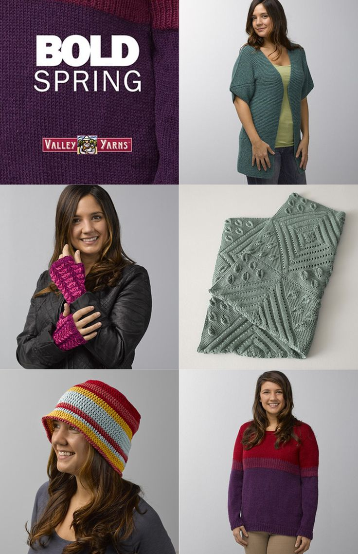 184 best valley yarns images on pinterest knitting patterns bold spring ebook fandeluxe Document