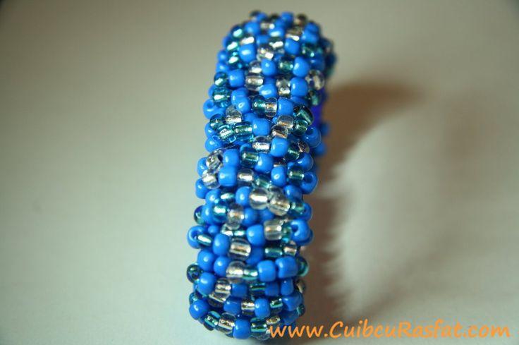 handmade toho bracelet