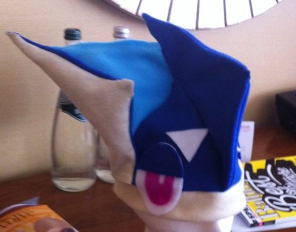 Pokemon Greninja Hat by purpleisntmycolr on DeviantArt