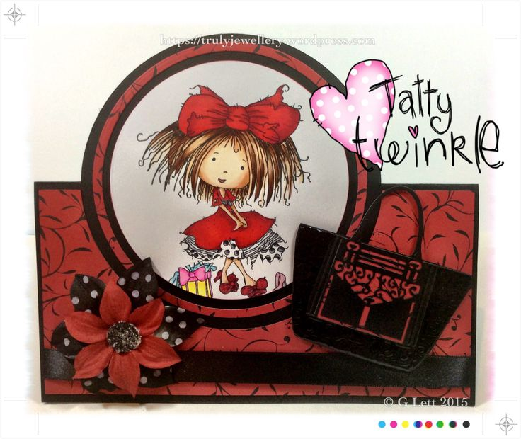 Tatty Twinkle in the red