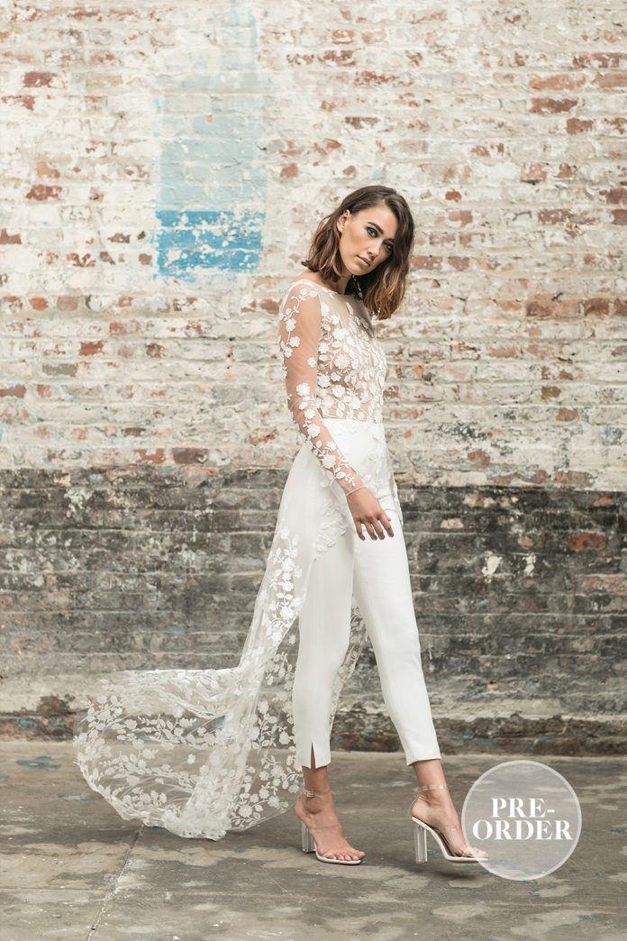 colección para bodas civiles 2018 rime arodaky | wedding dress