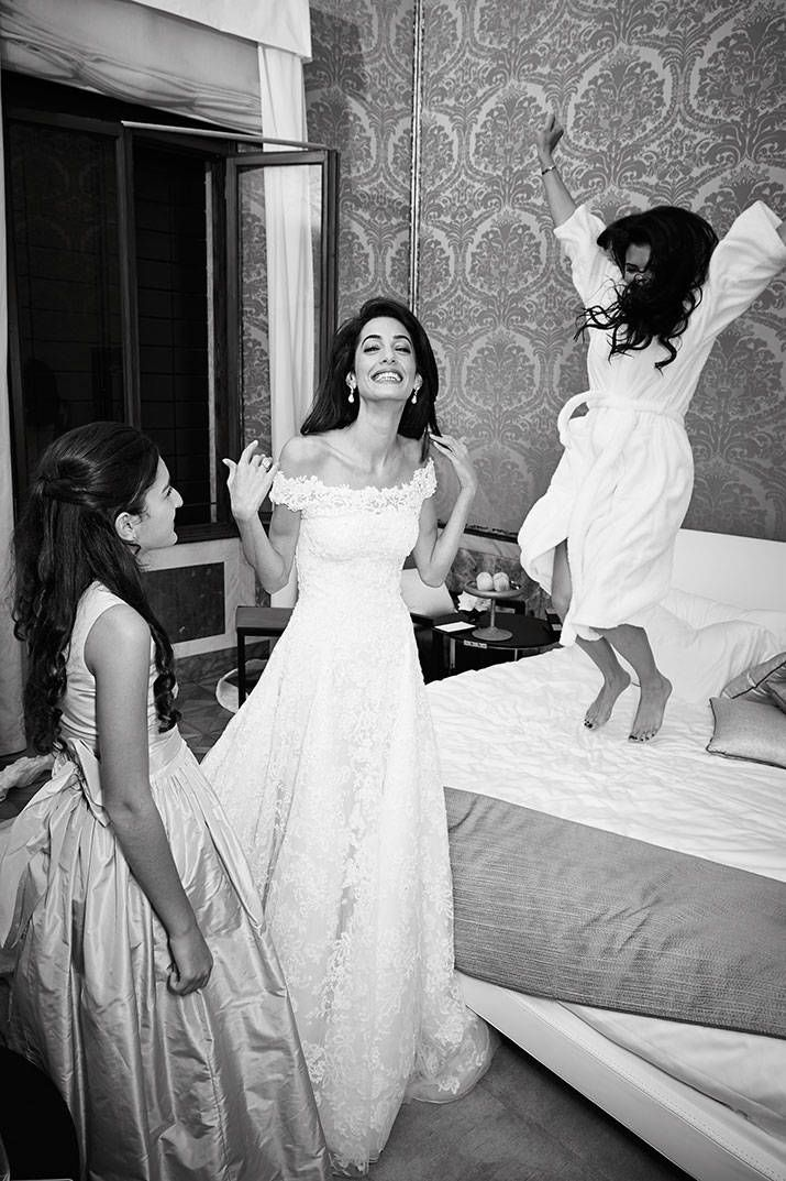 George and Amal Clooney new wedding pictures released.