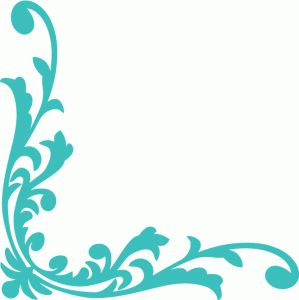 Silhouette Design Store - View Design #83709: damask vintage corner decor