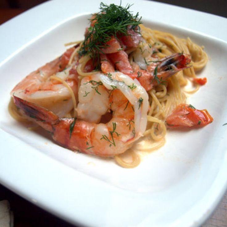 Shrimp in Sambuca Cream Sauce  Recipe on Food52 recipe on Food52