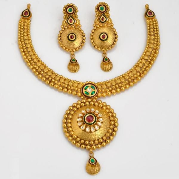 jewellery | gold | necklaceset