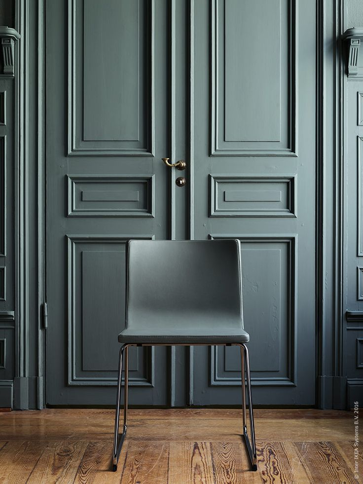 a grey/blue/green shade of green | painted panelled double doors
