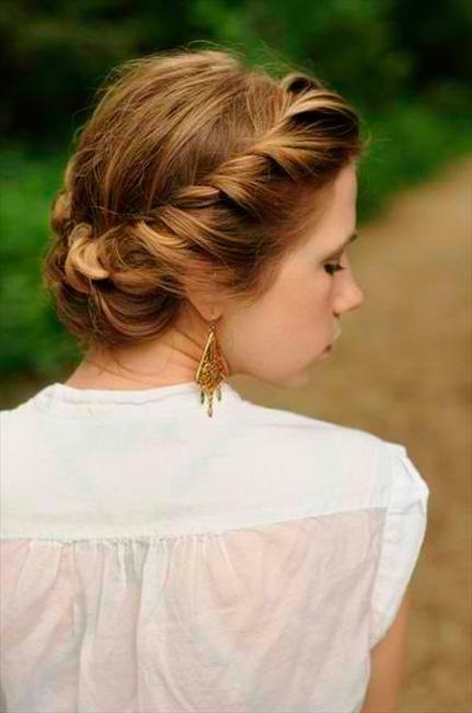 Peinados de moda: ¡retuerce tu pelo!