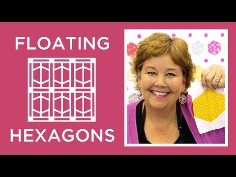 Floating Hexagons - Great way to start the New Year! I'll be making this one for sure. Thanks Jenny!