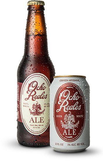 """Cerveza Ocho Reales """"Red Ale"""". Monterrey, México. Cerveza Artesanal Mexicana en…"""