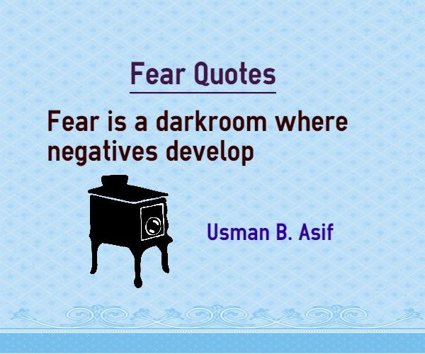 Quotes About Not Being Scared: 17 Best Quotes About Fear On Pinterest