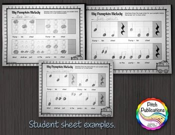 This is a great elementary music lesson plan for kindergarten or first grade. Students will love learning this original melody and then creating their own melodic composition!