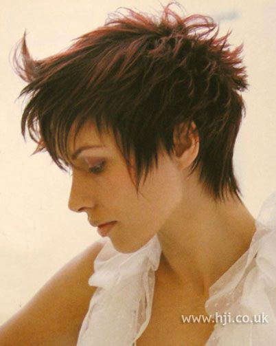 Short Textured Hairstyles Women | 2002 textured crop Hair ...