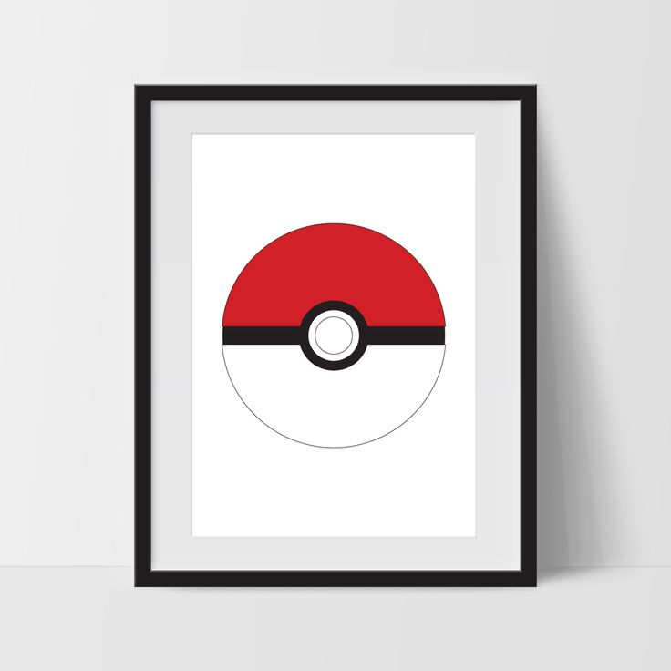 Pokeball Print Pokemon Go Poke Ball New Pokemon Poster Fire Red Team Rocket Kids Wall Art Boys Room Decor Pokemon TV Series Colorful Modern by BlacknBoo on Etsy https://www.etsy.com/listing/467613431/pokeball-print-pokemon-go-poke-ball-new