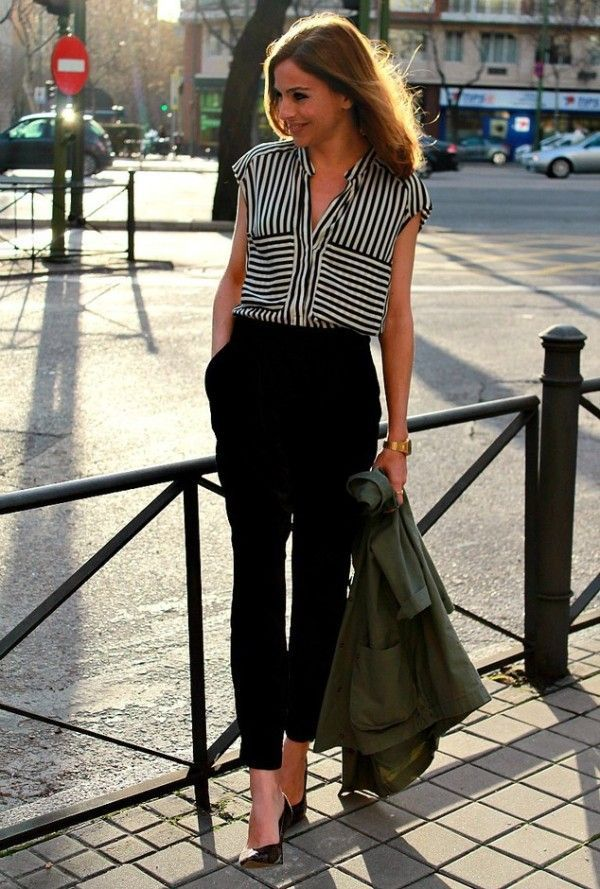 17 Best ideas about Black Cropped Pants on Pinterest | Minimal ...