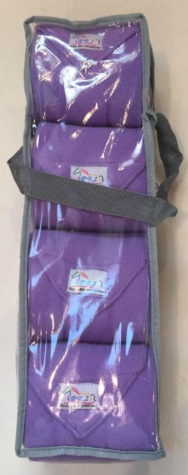 Lavender   Lilac Purple Fleece Polo Wraps (Set of 4) - Bon-Vivant Unique Equestrian Supply & Accessories