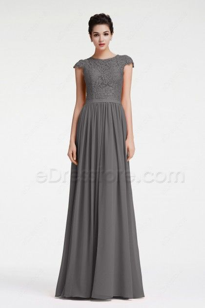 17 Best ideas about Charcoal Grey Bridesmaid Dresses on Pinterest ...