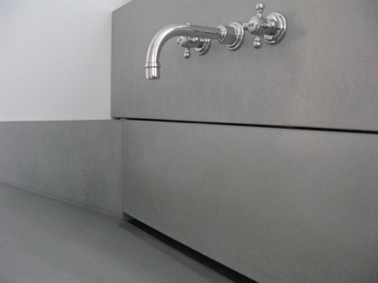 waschtisch mit ablaufrinne bad bathroom pinterest waschtisch. Black Bedroom Furniture Sets. Home Design Ideas