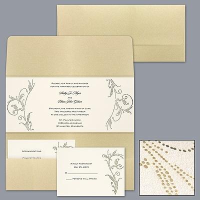 Sooo Pretty, SO expensive!!! :-( Gorgeous Golden Pocket - Invitation