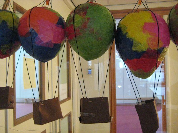 luchtballon lampion