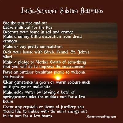 Litha~Happy Summer Solstice! Enjoy the amazing Moon this wknd :)