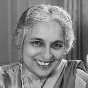 August 18, 1900 Vijaya Lakshmi Pandit born. Vijaya Lakshmi Pandit was born in Allahabad, India. She became active in the Indian nationalist movement and was imprisoned three times by the British authorities in India. With Indian independence, Pandit entered on a distinguished diplomatic career, leading the Indian delegation to the UN, serving as India's ambassador to Moscow, Washington and Mexico, and becoming the first woman to become president of the UN General Assembly.