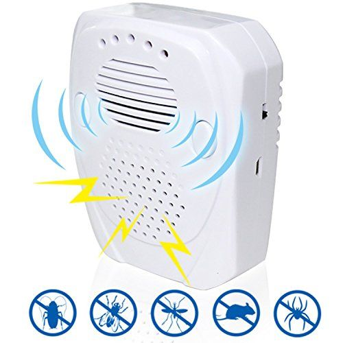 Pest Control eHouse Effective Electronic PlugIn Ultrasonic Pest Repeller Get Rid Of Mice Rats And Other Bugs Like Cockroaches Or Spiders Best Insect Repellent *** Details can be found by clicking on the image.