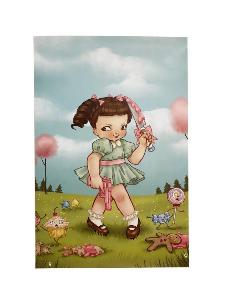 Melanie Martinez Knife Poster | Hot Topic
