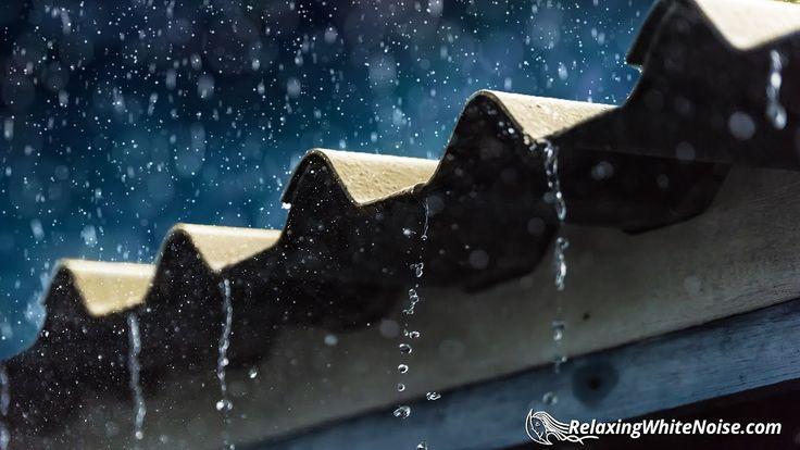 Sleep to Rain & Thunder Sounds | Relaxing Thunderstorm White Noise | 10 ...