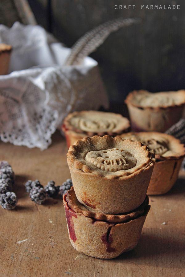 craft marmalade: Mini pies di grano saraceno alla confettura di more (gluten free, solo 5 ingredienti!)