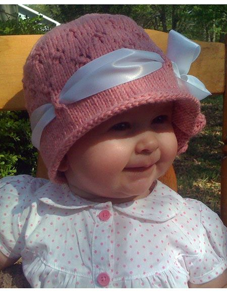 Free Knitting Pattern Baby Cloche Hat : 1000+ images about Knitting NICU/Preemie/Baby on Pinterest Free pattern, Ba...