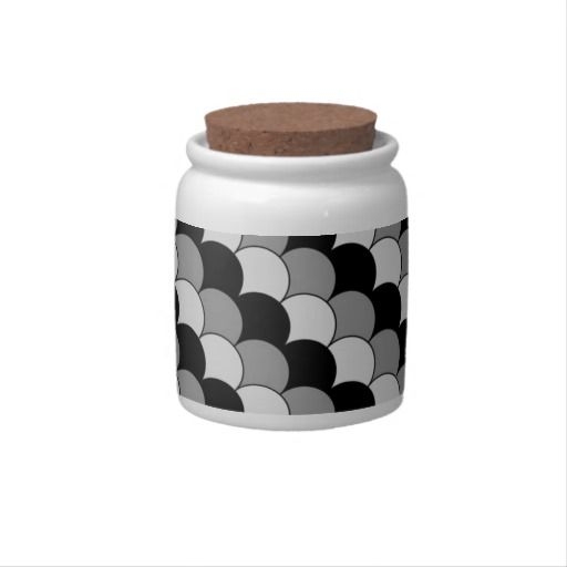 Black and white accessory design. candy dishes