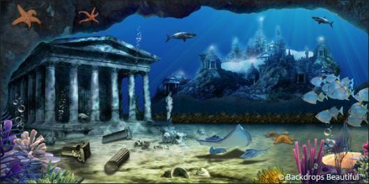 Atlantis! #UnderTheSea #backdrops #atlantis
