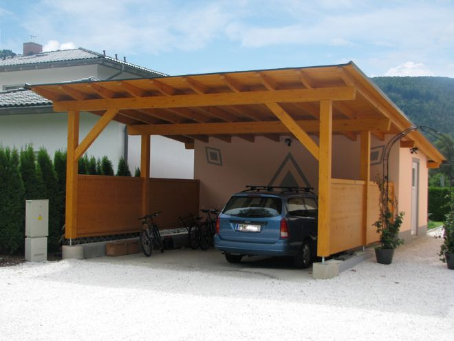 Best 25 enclosed carport ideas on pinterest side car for Open carports