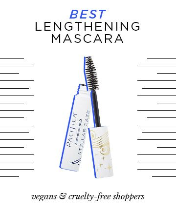 Best Lengthening Mascara That's Cruelty=free and Vegan  Try: Pacifica Stellar Gaze Length & Strength Mascara, $14  As if we weren't already slathering coconut oil on every other part of our body, the beneficial oil can also help rehab a less-than-lush lash line. Pacifica, one of our favorite vegan and 100 percent cruelty-free beauty brands, has now launched a formula to help lengthen and fortify lashes. We love that it's packed with nourishing vitamin B and pure coconutty goodness, and the…