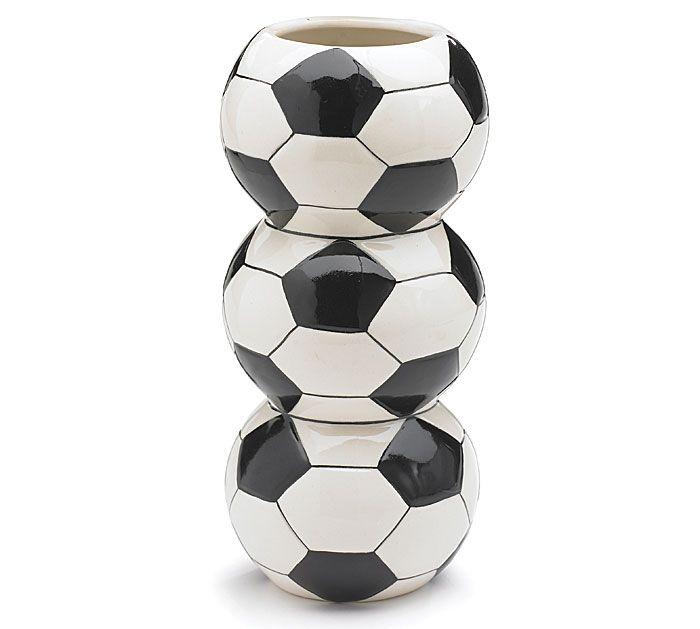 Soccer Ball Vase
