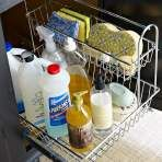 Are There Any DIY Cleaning Solutions That Will Sanitize Kitchen Surfaces?