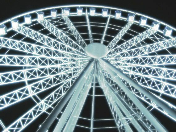 Ferris wheel in the night sky in Brisbane, Australia - Made by Gia, photo print from $30.00 https://www.facebook.com/madebygia