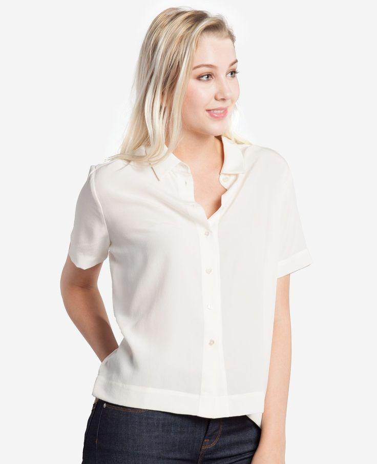 Grana silk top ($68)