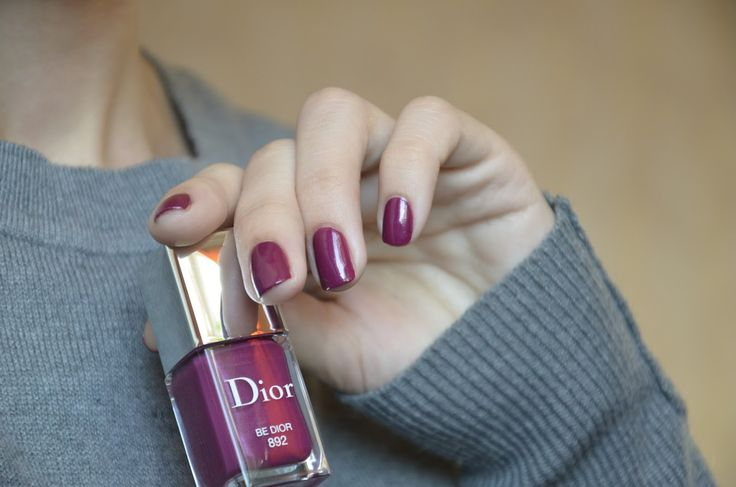 E_katerina: лак для ногтей Dior vernis #892 Be Dior | A Terrible Beauty. Are you?